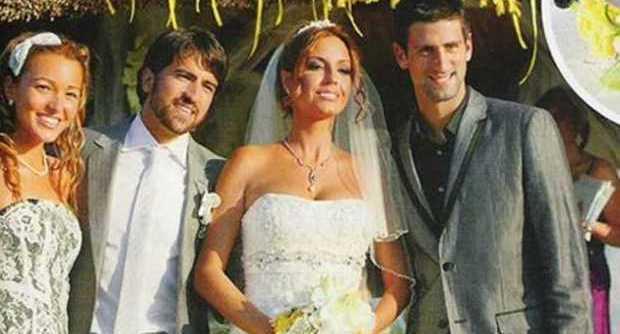 "Djokovic dice ""sì"" a Jelena, Boris Becker testimone in una cupola di marmo"