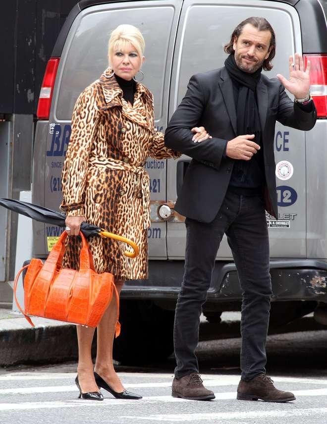 Rossano Rubicondi in amore: ritorno di fiamma con Ivana Trump