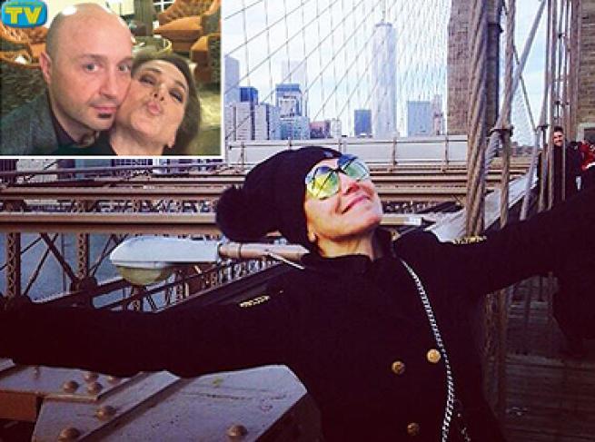 Barbara d'Urso e Joe Bastianich, che strana coppia a New York