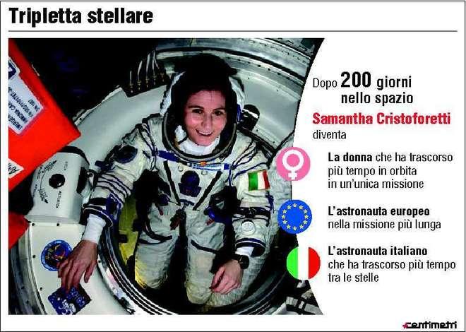"""Cristina Comencini: """"La Cristoforetti figura eroica, darà più forza alle donne italiane"""""""