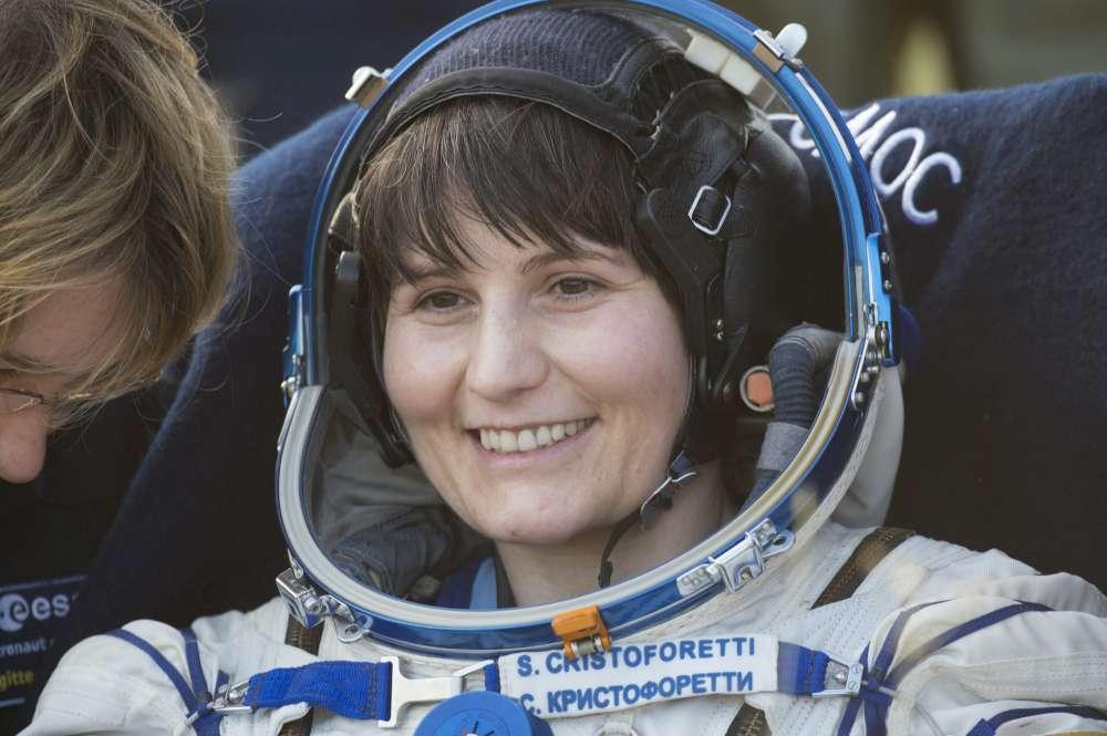 """Samantha Cristoforetti torna nello spazio con """"Star Trek"""""""