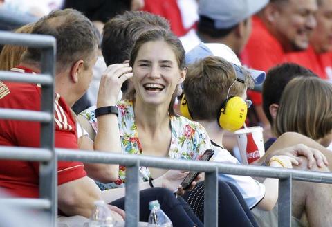 Coppa America: Amanda Knox in tribuna per Haiti-Peru'