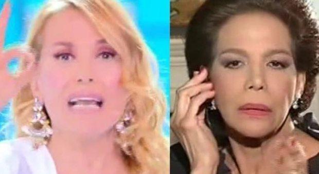 Non dirmi come fare il mio lavoro Barbara D Urso furiosa in diretta tv_22120721